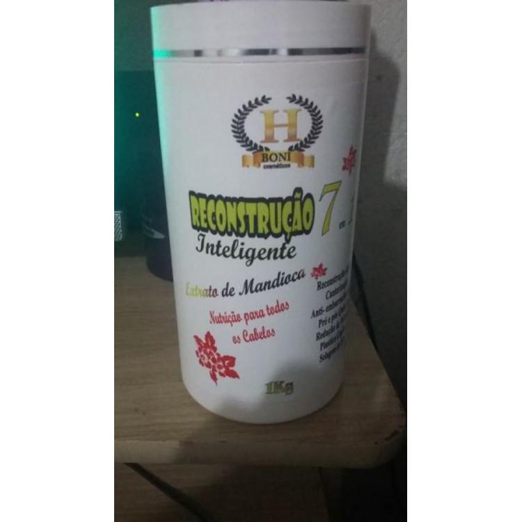 Reconstrução inteligente - 7 em 1 - Extrato de mandioca - H Boni cosméticos -1 kg