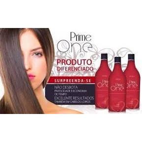 Prime one escova progressiva sem formol - Infinitá cosméticos - 1 litro