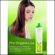 Lows Hair escova progressiva sem formol - Lows Hair pró Organic - 2x1000ml